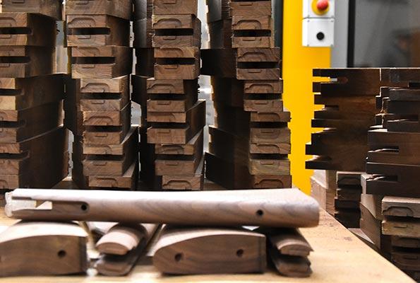 custom made wood gun stocks