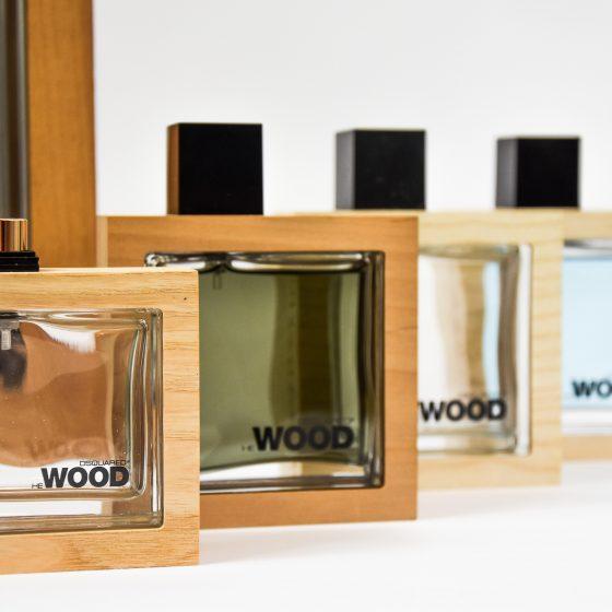 luxury wooden perfume packaging
