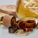 cosmetic and perfume wood packaging