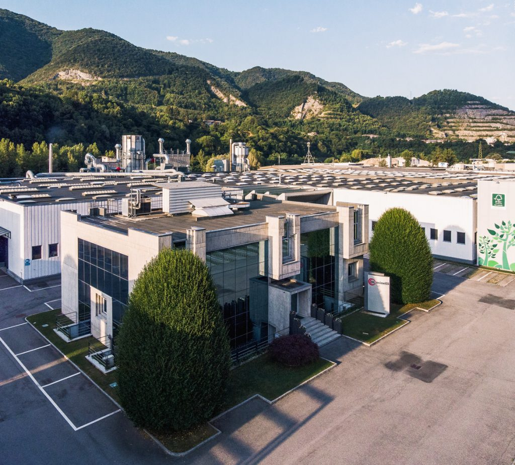Minelli headquarters & production plant in Zogno, Bergamo
