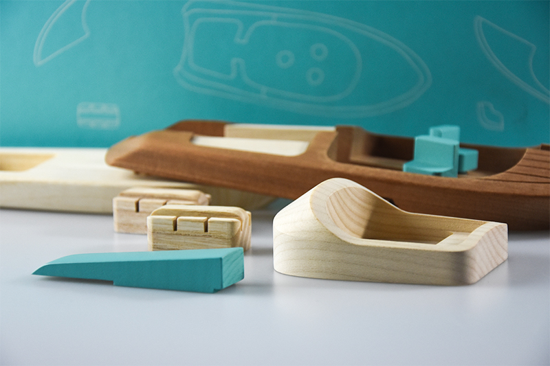 High quality wood toys components